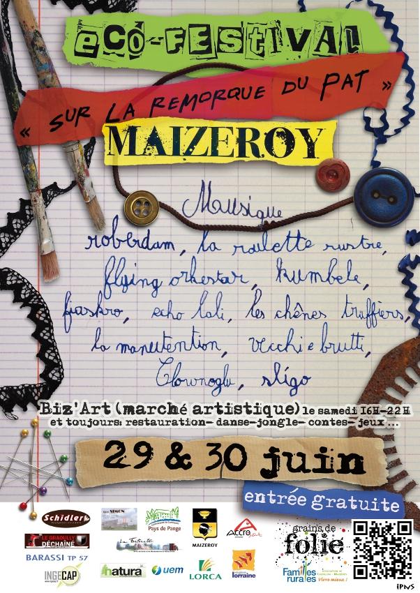 Affiche SLRDP 2012
