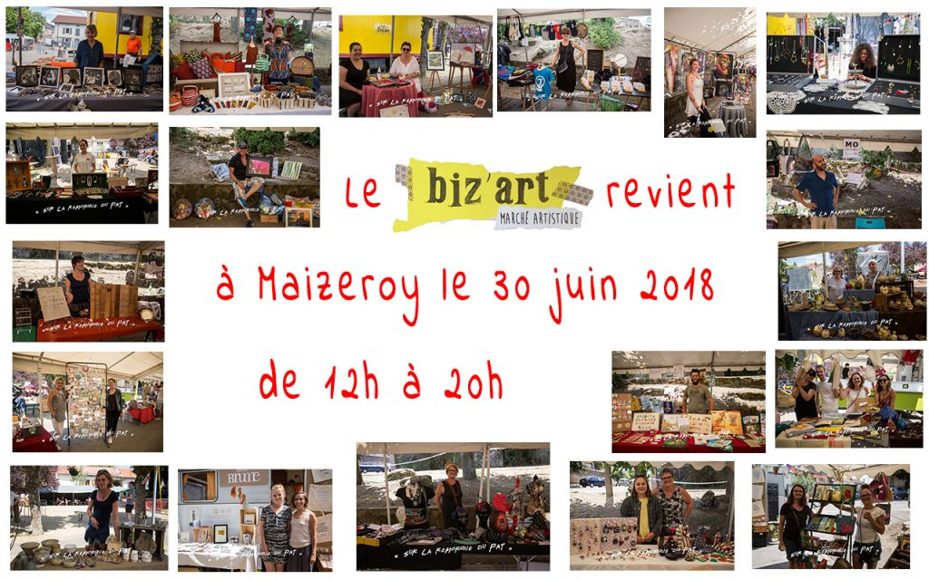 Biz'Art - inscriptions 2018